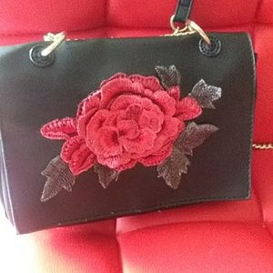 Handbags - Floral cross body purse